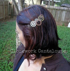 Clockwork Hairclip