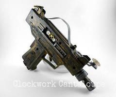 Clockwork Flux Pistol