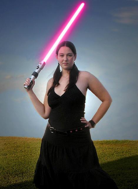 I am the punk Jedi by lavadragon