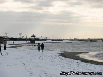 Neve a Ostia: Il Mare 1 by kirys79