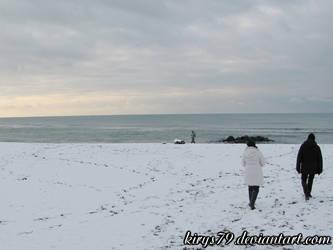 Neve a Ostia: Il Mare 2 by kirys79
