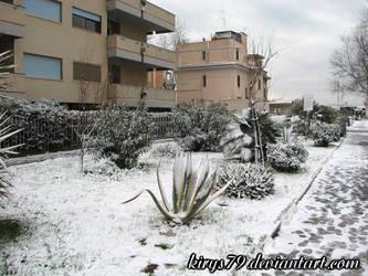Neve a Ostia: Le Strade 1 by kirys79