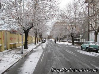 Neve a Ostia: Le Strade 2 by kirys79