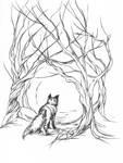 Inktober 11: Fox