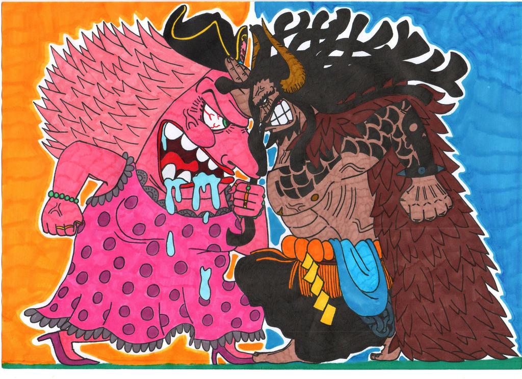Image result for kaido and big mom