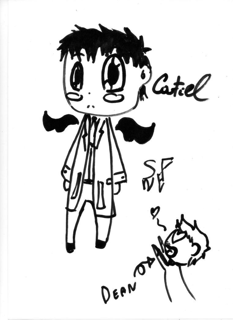 Chibi Castiel - Supernatural by SARETTA98