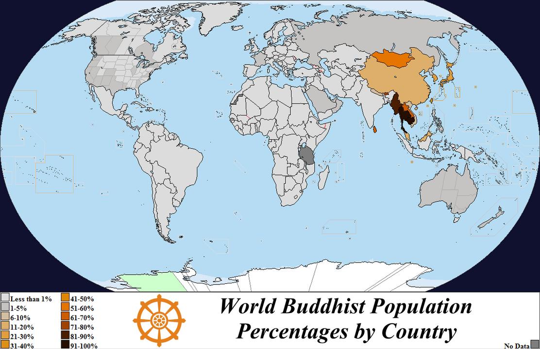 world buddhism population by country 2012 by iori komei