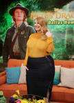 An overflowing glass of Bryce Dallas Howard