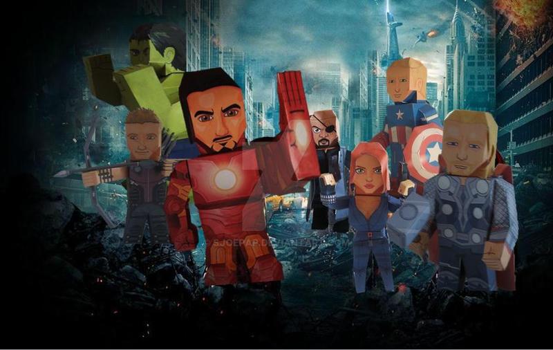 Avengers by sjoepap