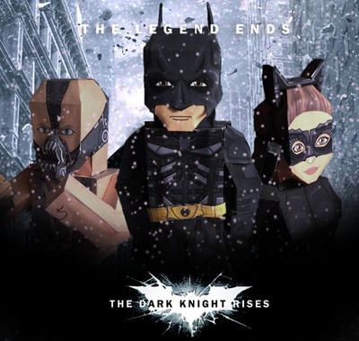 Dark Knight Rises by sjoepap