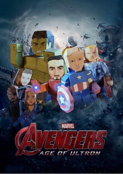 Avengers Age Of Ultron By Iloegbunam On Deviantart: Age Of Ultron By Sjoepap On DeviantArt