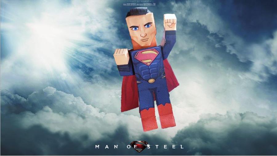 Man of Steel by sjoepap