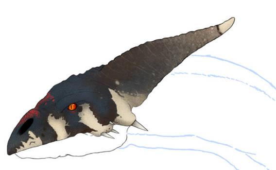 Re. Prehistoric Dragon WIP 1