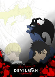 Devilman Crybaby 3rd Anniversary