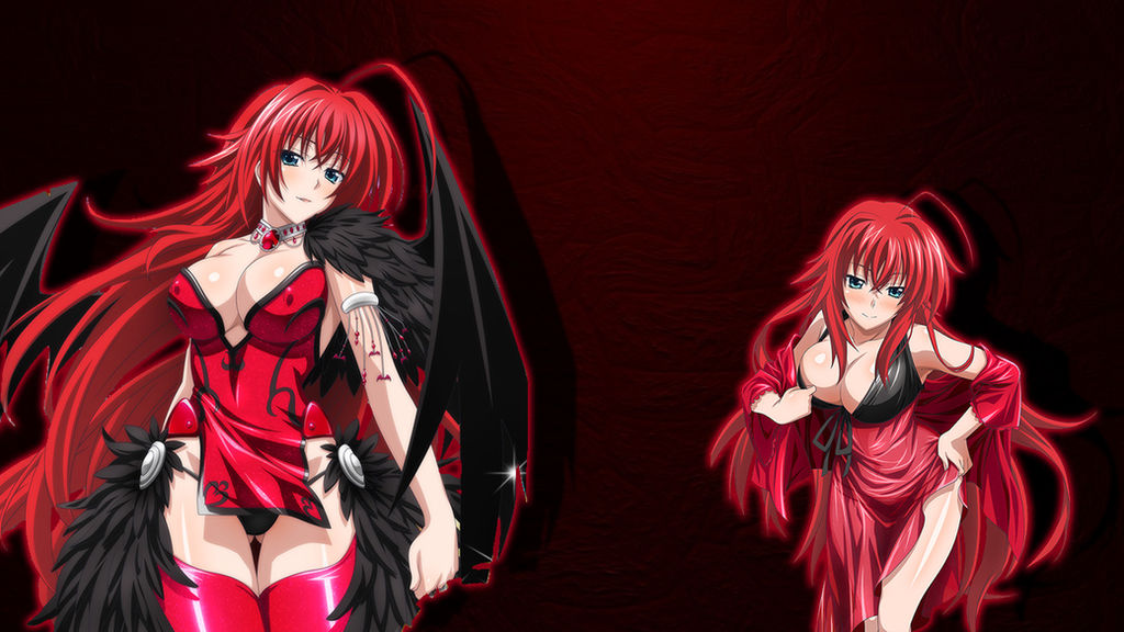 Rias Gremory Wallpaper Selfmade HD by E1chh0rn ...