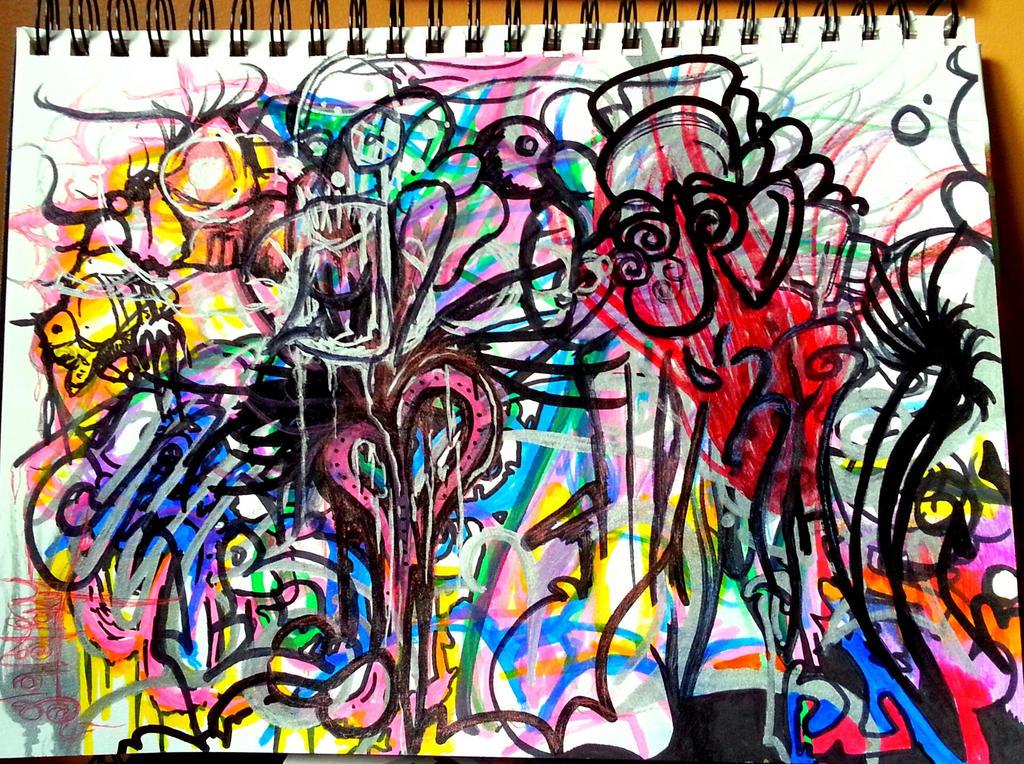 Black Book Graffiti 90