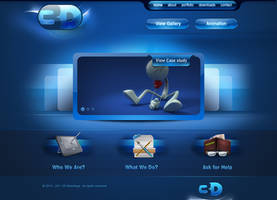 3D Advantage homepage by prkdeviant