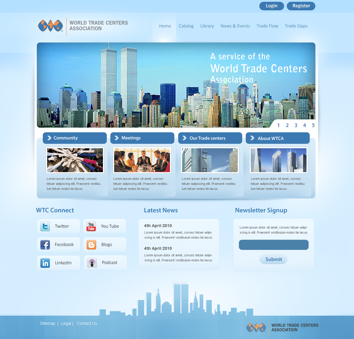 World Trade Centre by prkdeviant
