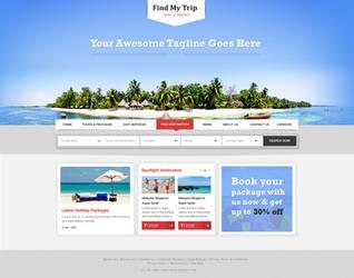 Travel Company WordPress Theme