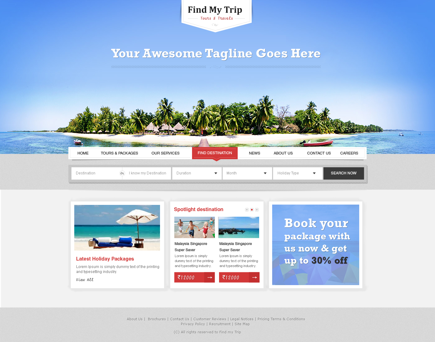 Travel WordPress Themes Travel Company WordPress Theme by prkdeviant on DeviantArt