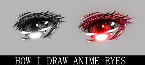 How to draw anime eyes? by GBSartworks