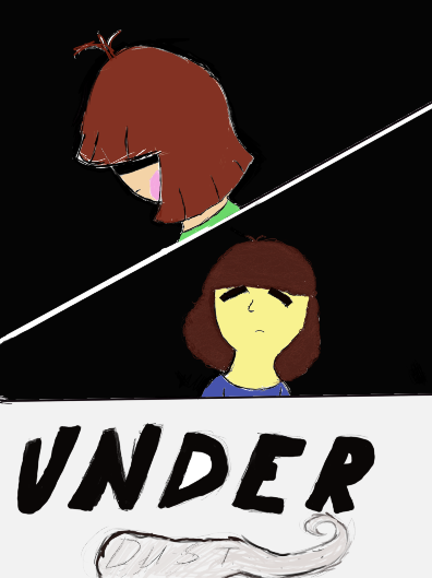 UNDERDUST: Title Page by chillywilly33