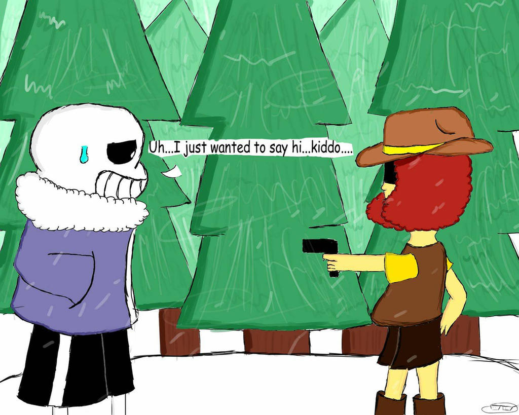 Sans meets Justice by chillywilly33