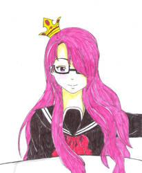 OC: School Girl Princess .. by dhamphir363