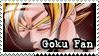 Goku Fan Stamp by Furiael