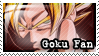 Goku Fan Stamp by Furiael