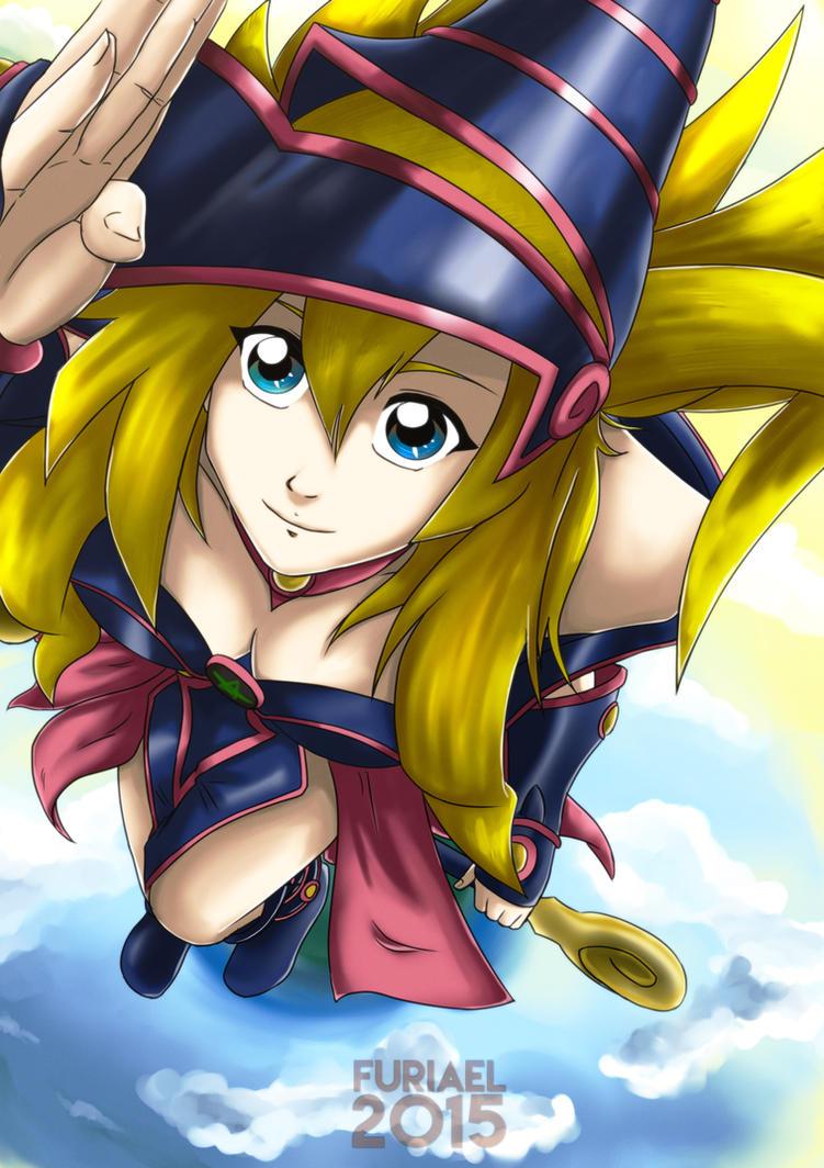 + Yu-Gi-Oh Fanart: Dark Magician Girl + by Furiael