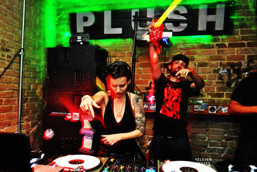 dj Empress at Plush ATX by 4ELEVEN-IMAGES