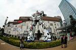 RX-0 Unicorn Gundam in Tokyo