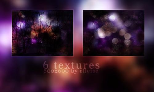 6 textures 800x600 by elleise