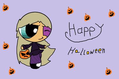HAPPY  Halloween by pinkit123
