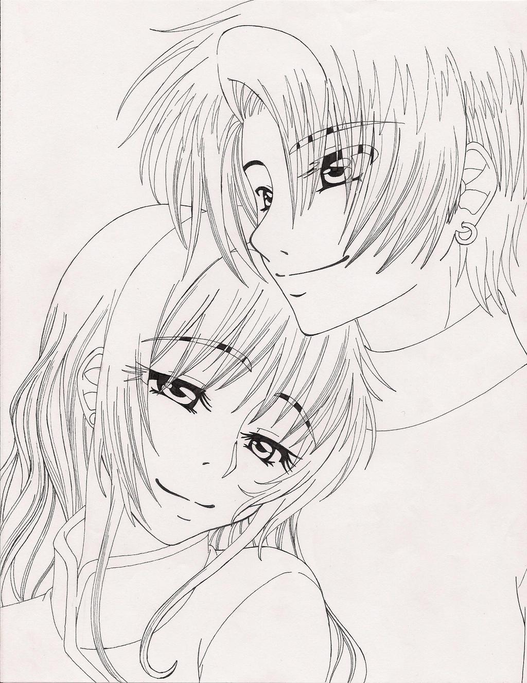 Line Art Love Images : I will love you always line art by koyukitorigirl on