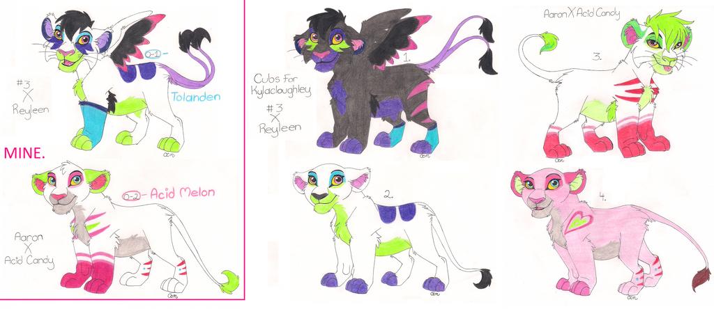 Cubs For Kylacloughley by KoyukitoriGirl