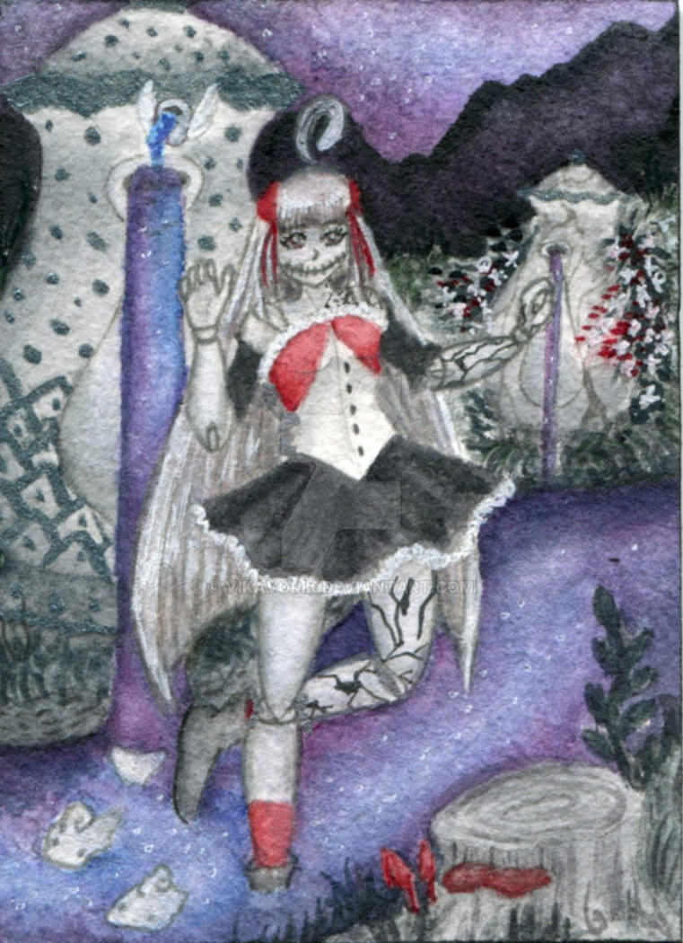 ATC/KAKAO #027 - Clarises Good Night Tea by VikaVorik