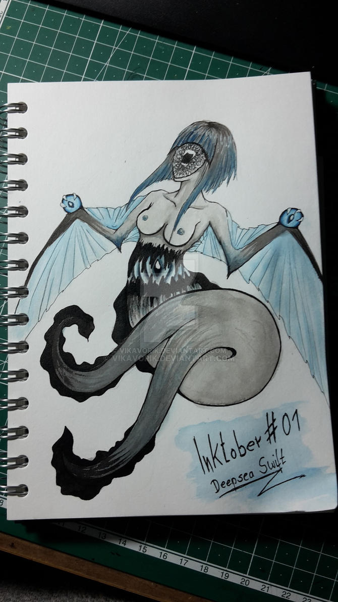 Inktober 01.10.2017 Swift  by VikaVorik