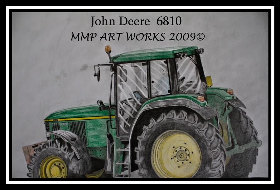 Girly John Deere Paintings : John deere by mark on deviantart
