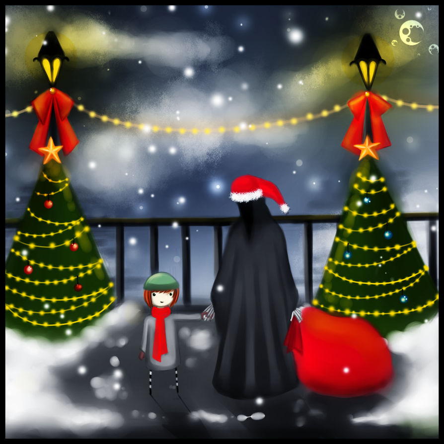 Christmas Night by CuteReaper on DeviantArt