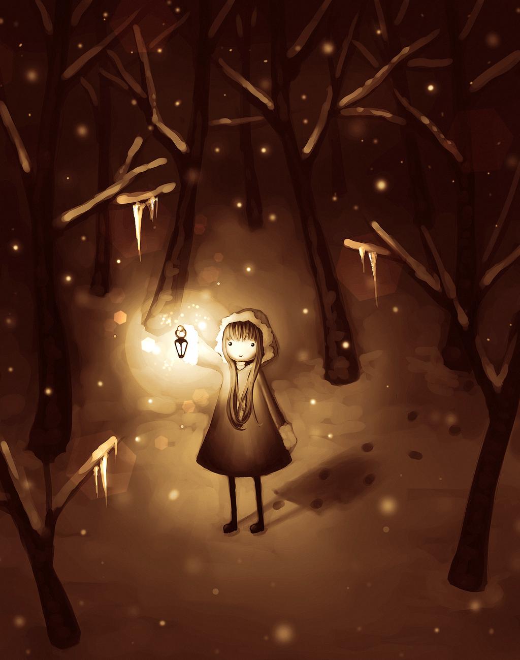 Snow by CuteReaper