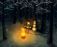 Cold Night by CuteReaper