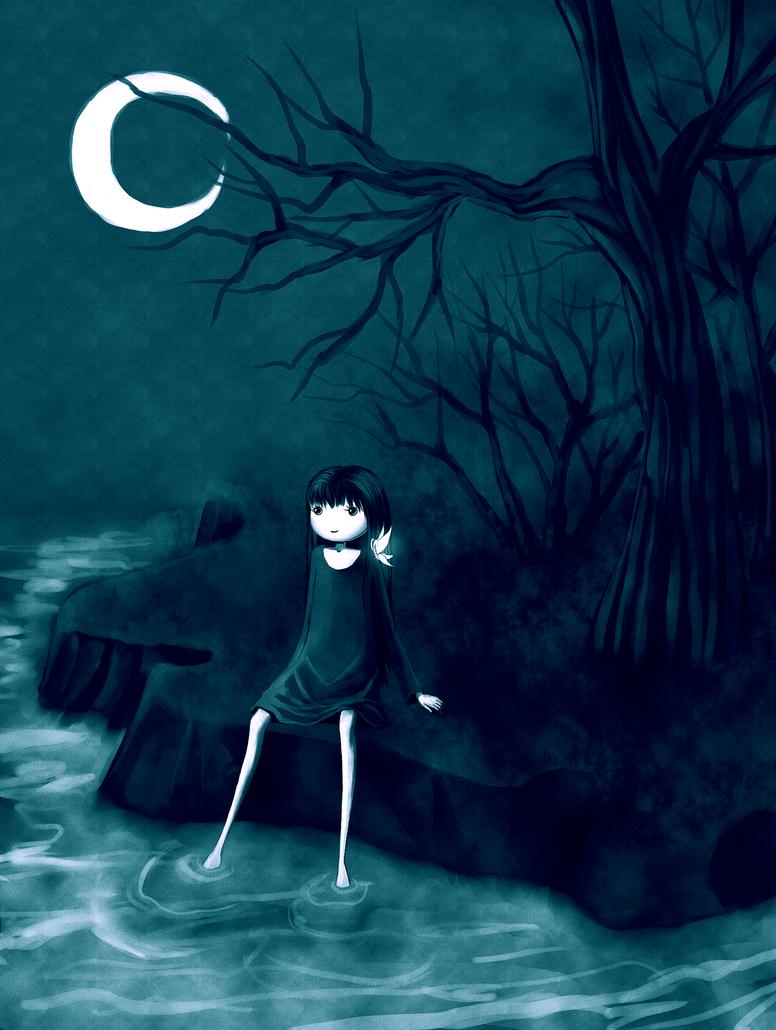 Blue Night by CuteReaper