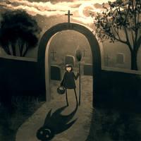 Cemetery by CuteReaper