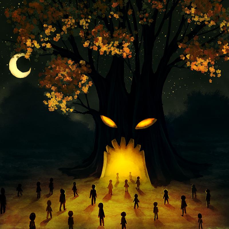 Evil Tree by CuteReaper