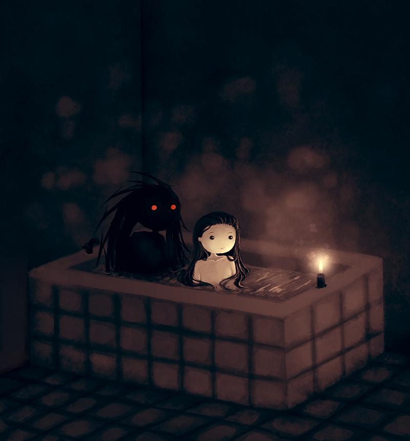 Bath by CuteReaper