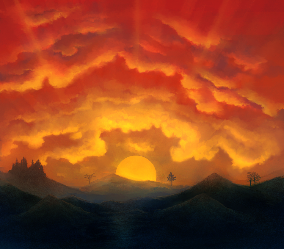 Sunset by CuteReaper