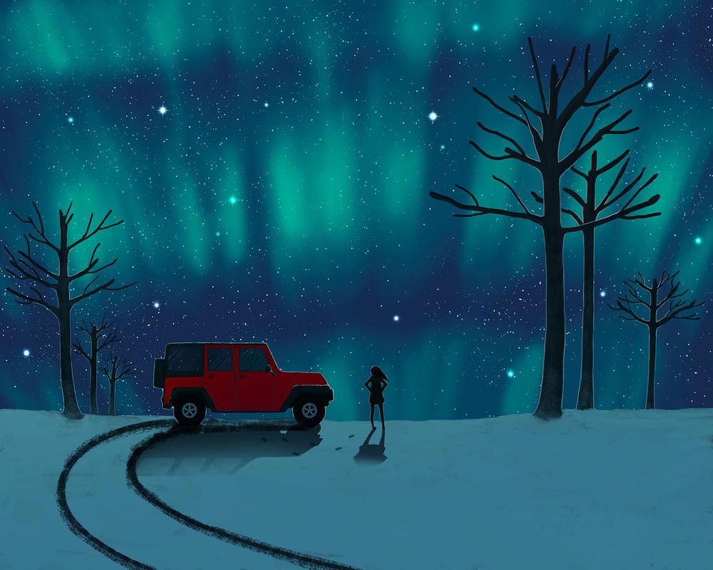 Aurora Borealis by CuteReaper
