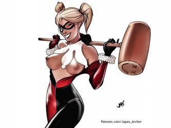 Knock 'Em Dead, Harley by JapesArcher
